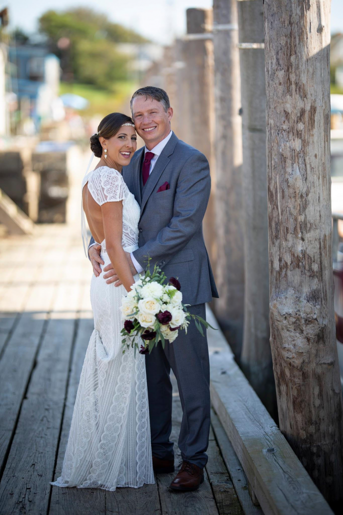 Despite the anxiety, sadness and horror of this situation unraveling, Jeremy and Isabelle had a beautiful wedding